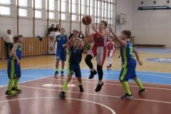 Zápas basket Valmez - TJ Slavia KM, 13.12.2017 Valmez